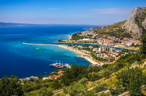 4 napos üdülés a horvátországi Omis-ban