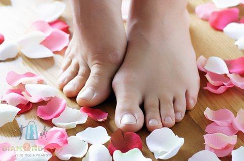 Csodásan ápolt lábak esztétikai pedikűrrel