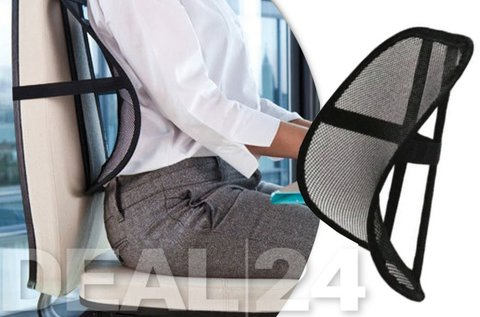 Egészséges tartás székre rögzíthető deréktámasszal