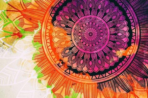 Mélyülj el a selyem mandala festés rejtelmeiben!