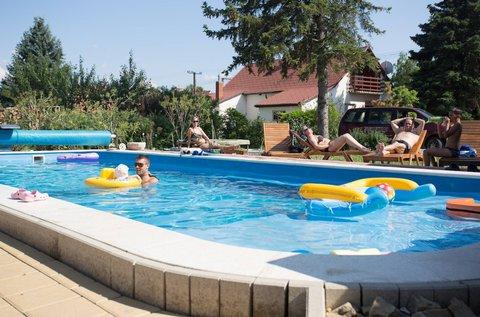 6 napos nyári feltöltődés a Balaton partján