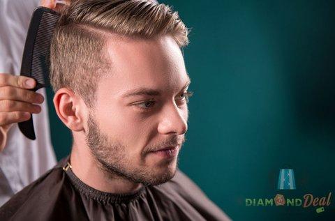 Trendi frizura férfiaknak ollós vagy gépi hajvágással
