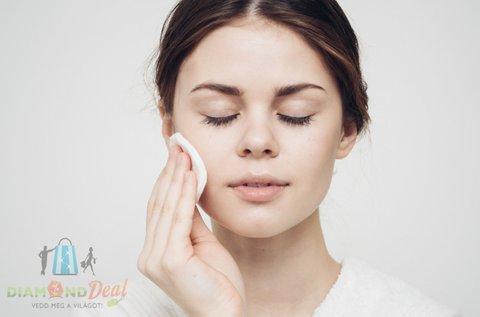 Mélytisztító kozmetikai kezelés arcvasalással