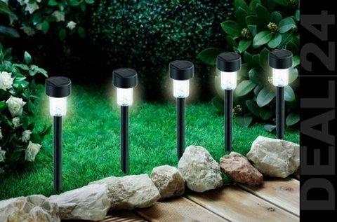 10 db napelemes kerti LED hangulatvilágítás