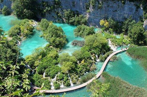 Nyári vagy őszi pihenés 4 főnek a Plitvicei-tavaknál