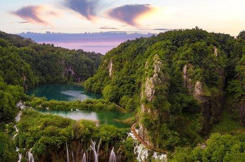 Szeptemberi kirándulás 1 főnek a Plitvicei-tavakhoz