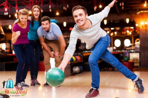 2 óra bowlingozás + korlátlan nachos fogyasztás