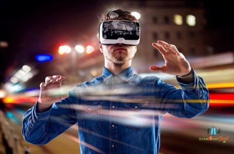 60 perc VR szimulátorozás maximum 4 fő részére