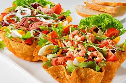 Halas és mexikói ételek 20% kedvezménnyel
