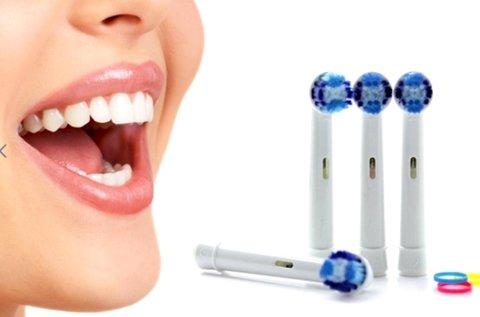 4 db hagyományos vagy 3D elektromos fogkefefej