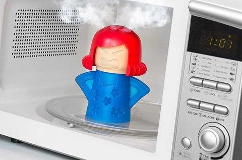 Füstölgő Mama praktikus mikrohullámú sütő tisztító