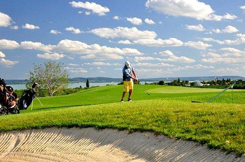 2x45 perces golfoktatás és játék Balatonudvariban