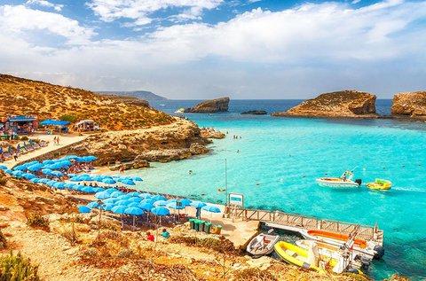 1 hetes vakáció a napsütéses Máltán repülővel