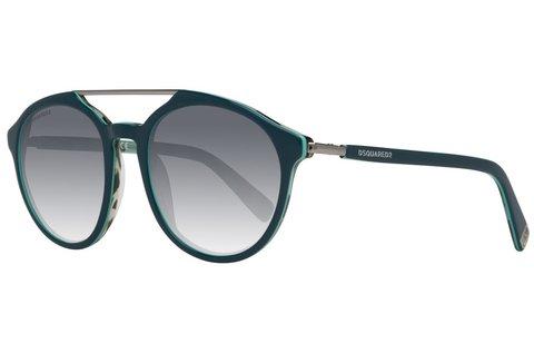 Dsquared2 unisex napszemüveg zöld kerettel