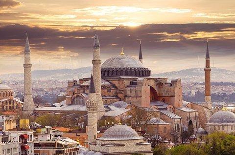 Szeptemberi városnézés busszal Isztambulban