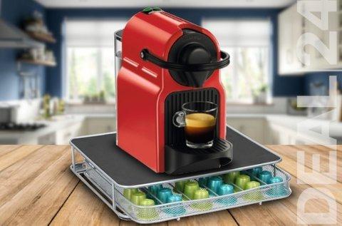 Helytakarékos fiókos kávékapszula tartó