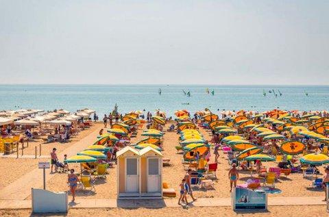 8 napos üdülés 3-5 főnek az olasz tengerparton