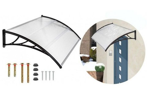 Dekoratív esővédő előtető műanyagból