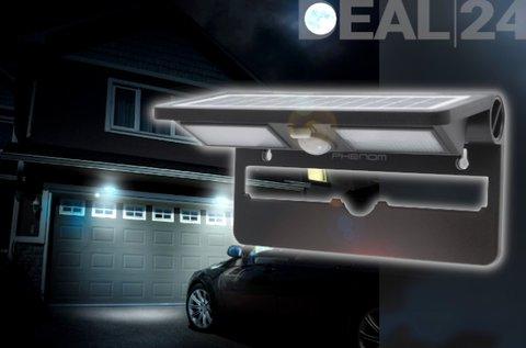 LED-es szolár reflektor mozgásérzékelővel