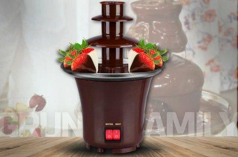 Többszintes csokiszökőkút mennyei desszertekhez