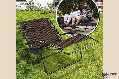 2 személyes zéró gravitáció kerti szék