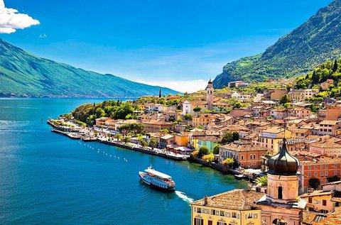 5 napos októberi körutazás 1 főnek a Garda-tónál