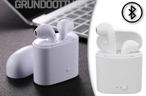 i7 TWS vezeték nélküli fülhallgató töltőtokkal