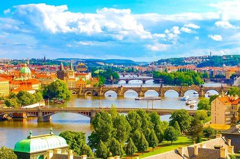 3 napos feltöltődés Prága belvárosában