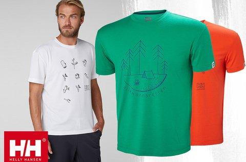 Helly Hansen Skog Graphic férfi technikai póló