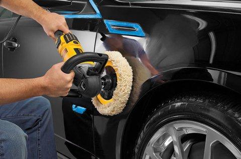 Teljes körű autópolírozás gumiápolással