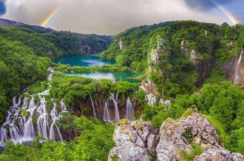 3 napos nyári lazítás 4 főre a Plitvicei-tavak mellett