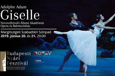 Belépő a Giselle című romantikus balett előadásra