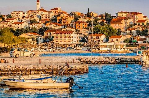 1 hetes nyaralás 4 főnek a horvát tengerparton