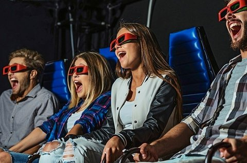 5D-s mozi belépőjegy 1 fő részére a DreamLandbe