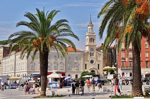 Páratlan pihenés egész évben Split óvárosában