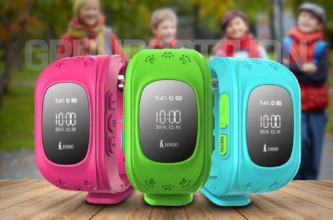 Divatos GPS nyomkövetős karóra gyerekeknek