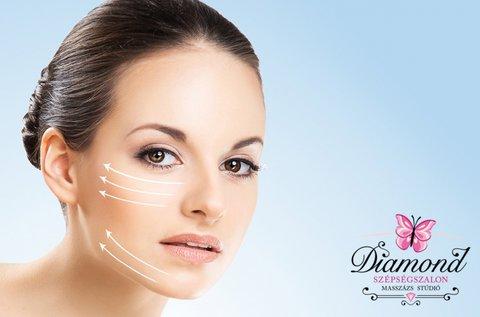 Bőrmegújítás mélytápláló, hidratáló arcvasalással