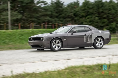 Dodge Challenger vezetés a Hungaroringen