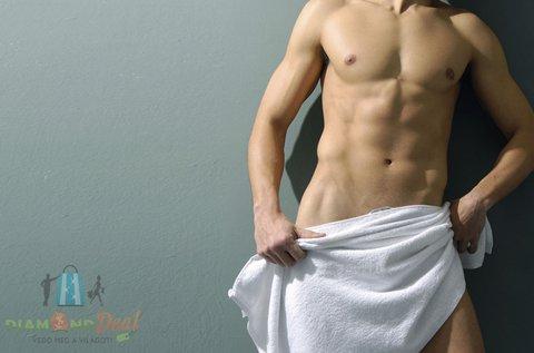 Teljes intim gyantázás férfiaknak cukorpasztával