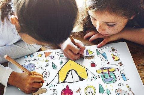 4 napos nyári napközis rajztábor gyerekeknek