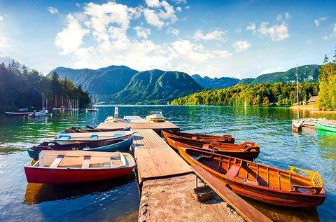 3 napos kikapcsolódás júniusig a Bohinji-tó mellett