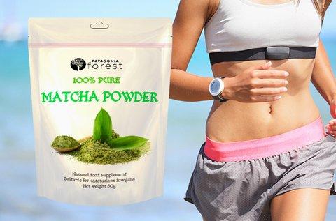 100% tisztaságú Matcha tea por vegánoknak is