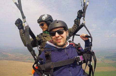 Tandem siklóernyőzés FullHD emlékvideóval