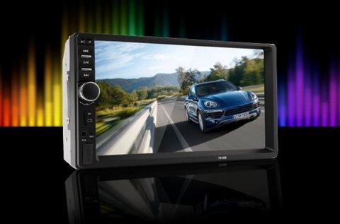 Bluetooth-os autórádió 7 colos LCD érintőkijelzővel