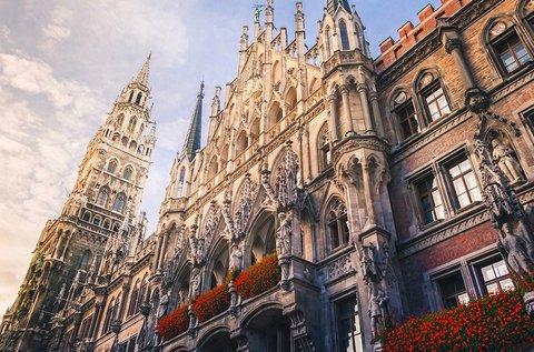3 napos családi feltöltődés a gyönyörű Münchenben