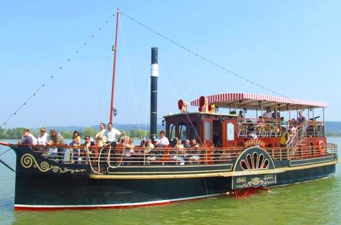 1 órás panoráma hajókörút a Balatonon 1 fő részére