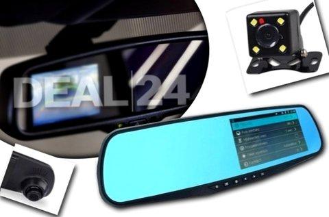 Eseményrögzítő és tolatókamera autós töltővel