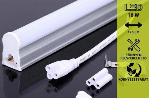 Nagy fényerejű 120 cm-es LED lámpa