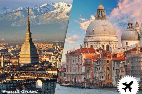 Adventi látogatás Torinóban és Velencében repülővel