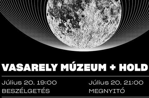 Hold 50 kiállítás a Vasarely Múzeumban